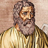 The Greek physician Hippocrates