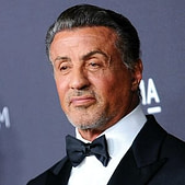 Sylvester Stallone, an American actor, director, screenwriter, producer and artist
