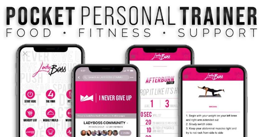 Pocket Personal Trainer-LadyBoss