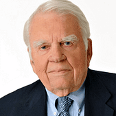 Andrew Aitken Rooney was an American radio and television writer
