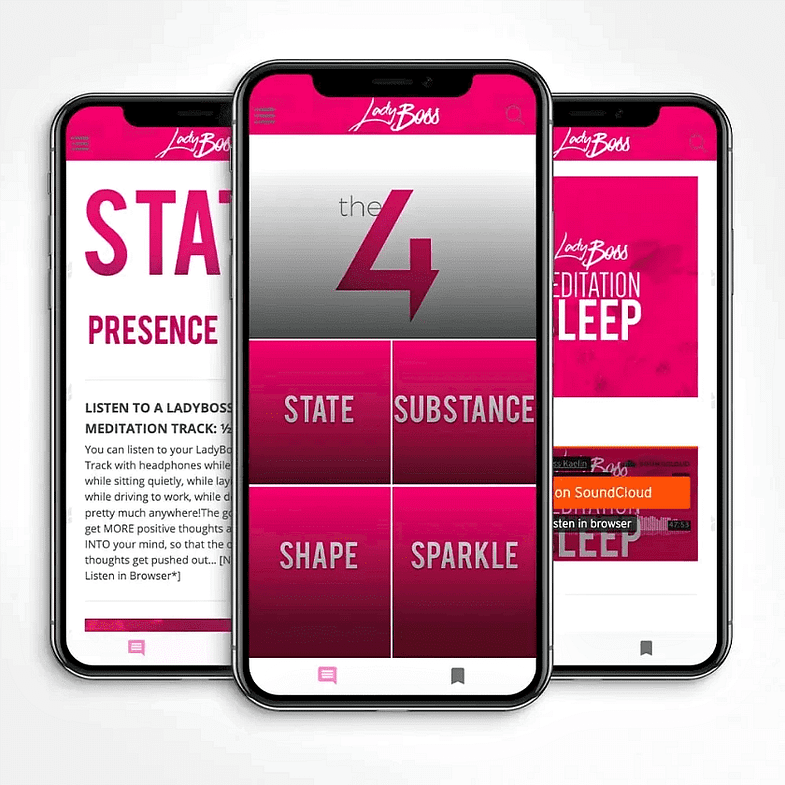 Pocket Personal Trainer App-LadyBoss