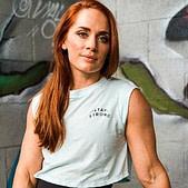 Meg Gallagher (aka Meg Squats), powerlifter, coach